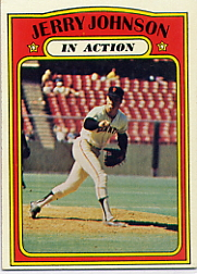 1972 Topps Baseball Cards      036      Jerry Johnson IA